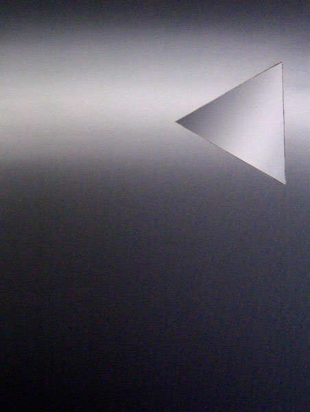 Inverse Intarsie Dreieck